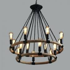 beautiful 2 tier chandelier for 2 tier 32 inch wide industrial style 14 light rope led