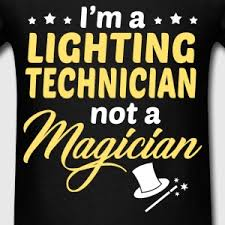 lighting technician. lighting technician menu0027s tshirt