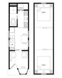 Small Picture Sample Floor Plans for the 828 Coastal Cottage Tiny House