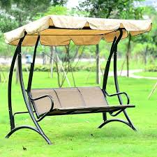 garden furniture swing durable iron 3 person canopy garden swing chair hammock outdoor furniture cover seat