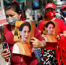 Militärputsch: Märchen vom demokratischen Myanmar ist zu Ende - WELT