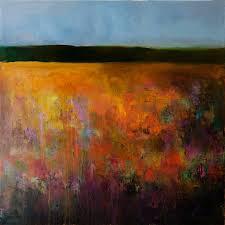 saatchi art artist anton evmeshkin painting abstract landscape autumn field