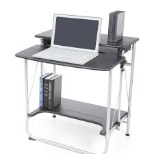 Ideas Related to Interesting Folding Computer Desk Large Work Surface With  Bottom Storage Shelf Great Desk For Small Areas Or For Temporary Work  Stations ...