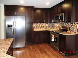 Dark Wood Kitchen Images Dark Kitchen Cabinets Cliff Kitchen With Regard To Stylish