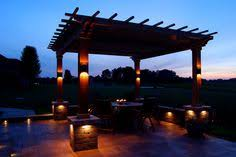 lighting a pergola. Lighthouse Of Indianapolis Specializes In Professional Landscape Lighting Design, Specialized Outdoor Installations And LED System A Pergola