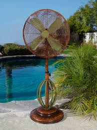 DBF0622 Playa Outdoor Patio Fan Floor Standing Outdoor Fan by Deco