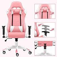 JL Comfurni <b>Gaming Chair Desk</b> Chairs <b>Office</b> Computer Chair ...