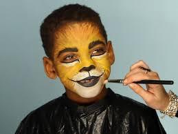 fun makeup for lion costume