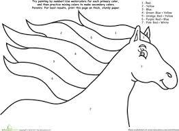Klik hierboven op de kleurplaat om hem op te slaan! Worksheets Watercolor Paint By Number Rainbow Horse Face Painting Easy Letter A Crafts Painting For Kids