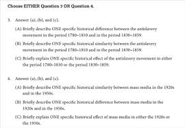 anderson peter course revision info part ii a the document based essay 1 question 60 minutes 25% of exam score
