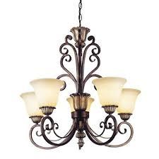 portfolio 5light brass chandelier at canada