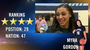 Alabama Women's Basketball Commit Myra Gordon Fills in the Recruiting Trail  on Her Decision - YouTube