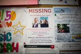 Missing Persons Posters Unique While Families Of Missing Men Wait For Answers They Face A Wave Of