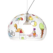 kartell kids pendant lamp small fly fly for childrens kids lighting22 lighting