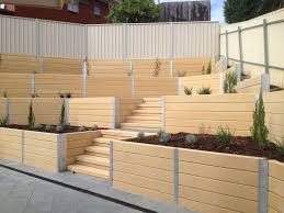 Small Picture Brighton Concrete Sleepers Concrete Retaining Walls Adelaide