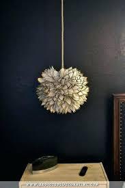 world market pendant light gold lotus hanging pendant lamp