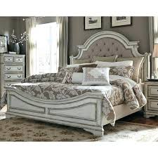 bedroom size for king bed antique white traditional upholstered king size bed magnolia manor decorate bedroom bedroom size for king