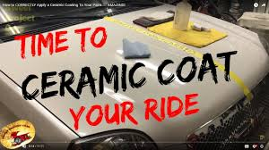 how to correctly apply a ceramic coating to your paint amazing