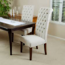cooper tall beige dining chair set of 2 modern dining room