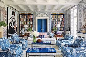 Aqua Blue Brown Ikat Upholstery Fabric Custom Blue Gold IkatIkat Home Decor
