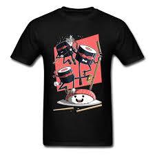 Новые дизайнерские мужские <b>футболки Ninja</b> Sushi Defenders ...