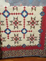 Amish Quilts in Shipshewana, IN | Dragonfly Quilts Blog & The Lone Star was particularly beautiful with gorgeous hand-quilted  feathers and arcs enhancing the design. It was inspiring to see all these  wonderful ... Adamdwight.com