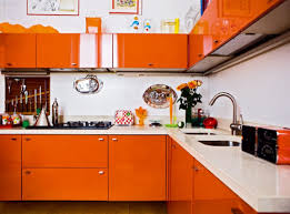 Orange Kitchen Decor