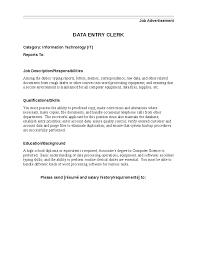 Accounting Clerk Resume Job Description Cv Resume Biodata Samples