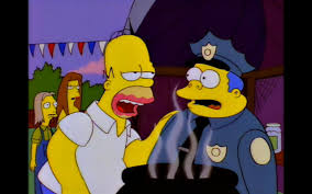 well chief don t quit your day job whatever that is thesimpsons well chief don t quit your day job whatever that is