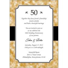 elegant 50th wedding anniversary invitations free guide awesome 50th anniversary party invitations inspiration