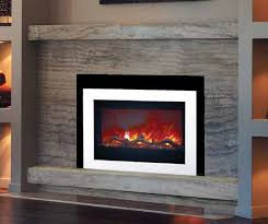 trendy modern electric fireplace insert available at luce s chimney stove serving ohio