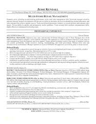 Retail Management Resume Examples