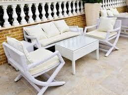 Patio & Pergola White Wicker Patio Furniture Superb White Wicker