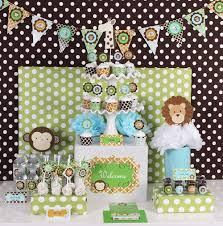31 Jungle Theme Baby Shower Table Decoration IdeasBaby Shower Jungle