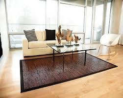 anji mountain cobblestone bamboo area rug 7 x 10 amb0085 0710 bamboo rug new