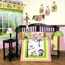 pink and yellow bedding girls crib bedding set monkey pink yellow piece baby infant toddler quilt pink and yellow bedding