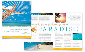 Holiday Flyer Template Word Persuasive Holiday Brochure Travel Brochure Template Word