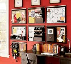 organize your office space. DIY Wall Space Office Organizer - Take Your Planning To The Next Level\u2014literally. By Using For Just About Everything, Desk Will Be Clear Organize W
