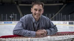 Meet Travis Larson The Minnesota Wilds Ice Man