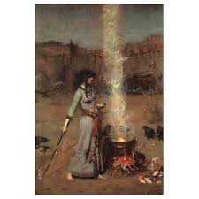 magic circle 1886 by john william waterhouse art gallery oil painting reions