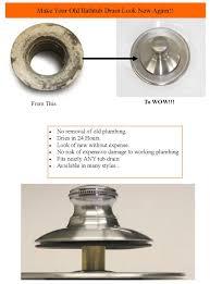 bathtub drain trim ring insert and cover jpg