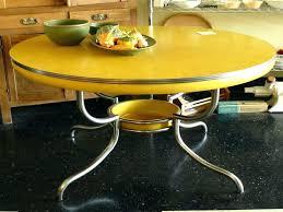 retro kitchen tables retro chrome table image of yellow retro kitchen table and chairs style chrome