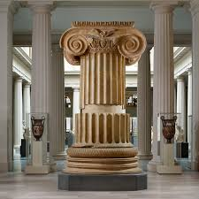 architecture in ancient essay heilbrunn timeline of art marble column from the temple of artemis at sardis