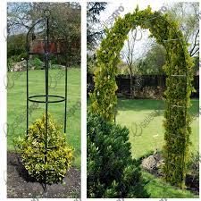 Amazoncom  Garden Trellis Obelisk For Climbing Plants Patio Climbing Plant Trellis