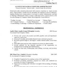 Resume Samples For Accounting Jobs In India Archives