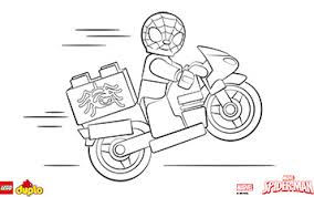 Small Picture Lego Spiderman Coloring Pages Alric Coloring Pages
