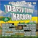 Party Tyme Karaoke: Country Hits, Vol. 10