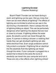 Eyeing The Effects Of Weather Lesson Plan Education Com
