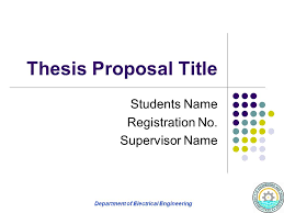 Ph  D  Thesis Proposal Presentation