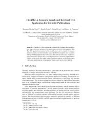 Pdf Cite4me Semantic Retrieval And Analysis Of Scientific